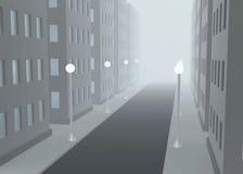 有雾的街道