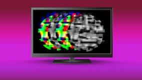 有静止的LCD屏幕 向量例证