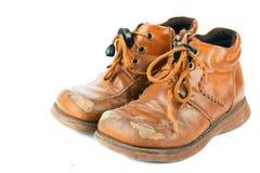 老鞋子 免版税图库摄影