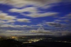 有风天空 库存照片