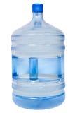 有饮用水的闭合的19公升塑料瓶 免版税库存图片