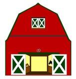 有马的谷仓在摊位 免版税图库摄影