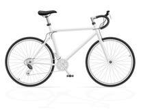 有齿轮转移传染媒介例证的路自行车 免版税库存图片