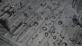 有水下落的地毯汽车 图库摄影