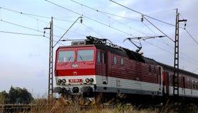 有3000个V直流电源的机车 免版税图库摄影