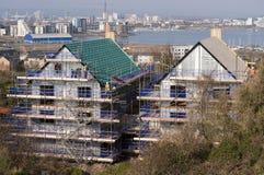 屋顶tecniques在英国 库存图片