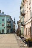 大广场在Piotrkow Trybunalski 免版税库存照片