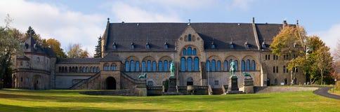 在goslar,德国的Kaiserpfalz 免版税库存照片