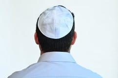 有kippah的犹太人 免版税库存照片