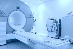有MRI设备的空间 库存照片