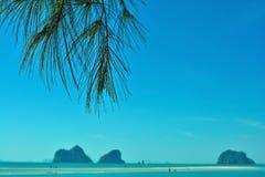 有pakmeng海滩 库存图片