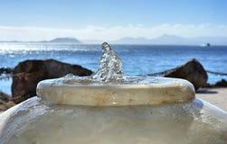 有seaviews的喷泉 图库摄影