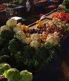 有veggys的土耳其义卖市场 免版税库存照片