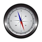 有windrose的指南针 免版税库存照片
