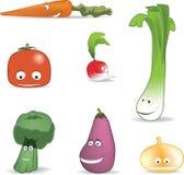 朋友蔬菜 免版税库存图片