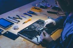 服务修理电子 免版税库存图片