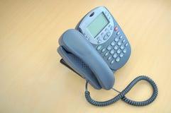 服务台办公室电话 免版税库存图片