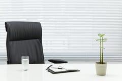 服务台办公室 免版税库存照片