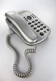服务台电话 免版税图库摄影