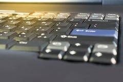 服务器和对象键盘 库存照片