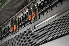 服务器和袭击存贮 库存图片