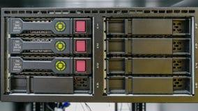 服务器和袭击存贮 免版税图库摄影
