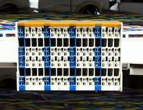 服务器室和控制板 免版税库存图片