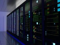 服务器室(共同地点) 免版税库存照片