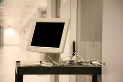 服务器终端 图库摄影