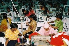 服装业在孟加拉国 免版税图库摄影