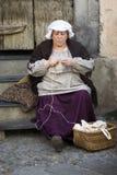 服装中世纪参与者当事人 免版税库存图片