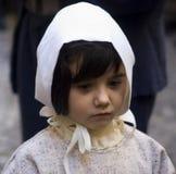 服装中世纪参与者当事人 免版税库存照片