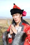 服装人蒙古语 免版税图库摄影