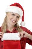 服装圣诞节 免版税库存照片