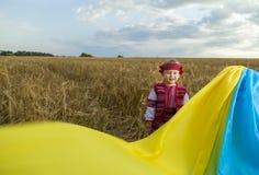 服装女孩国家乌克兰语 图库摄影