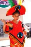 服装女孩墨西哥 库存图片