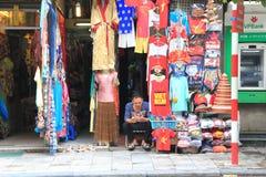服装店在越南 免版税库存照片