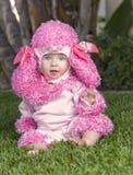 服装的,万圣夜婴孩 免版税库存照片