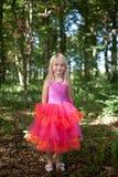服装神仙的女孩一点 免版税图库摄影