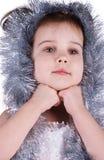 服装神仙的女孩空白的一点 库存照片