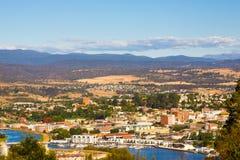 朗塞斯顿塔斯马尼亚岛澳大利亚 免版税库存图片