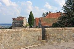 朗格勒,法国 免版税库存照片