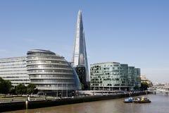 晴朗的伦敦地平线 免版税图库摄影