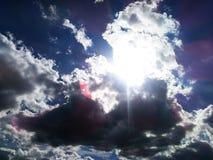 晴朗的天空 库存照片