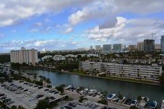 晴朗的小岛美丽的景色,佛罗里达 免版税库存图片