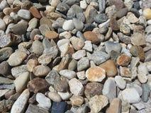 晴朗的岩石 库存照片