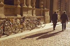 晴朗的早晨在米兰 免版税库存图片