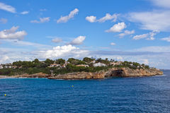 晴朗的海岛 免版税库存照片
