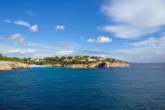 晴朗的海岛 免版税库存图片
