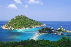 晴朗的海岛 免版税图库摄影